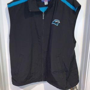Carolina panthers vest